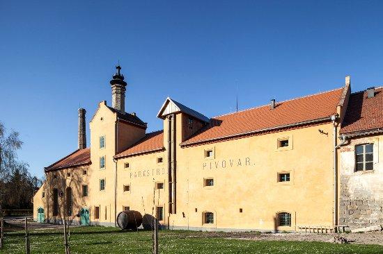 Parostrojni pivovar v Lobci u Msena