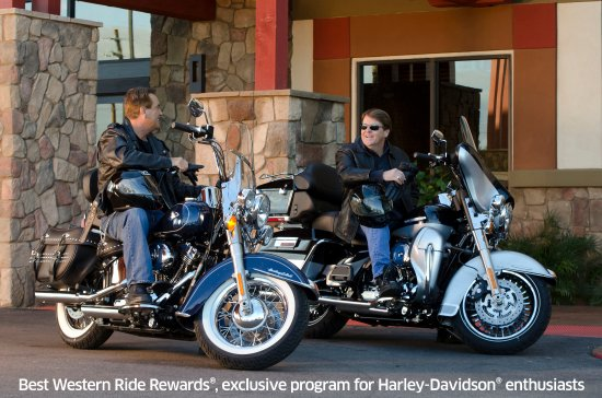 BEST WESTERN Radford Inn: Ride Rewards