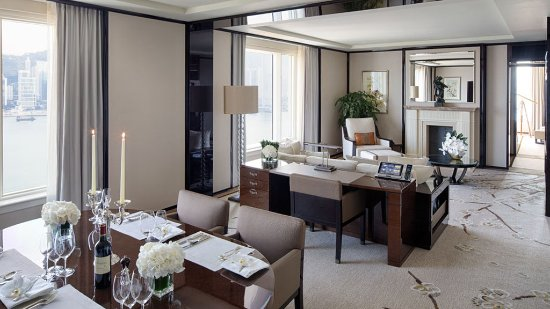 The Peninsula Hong Kong: Grand Deluxe Harbour View Suite