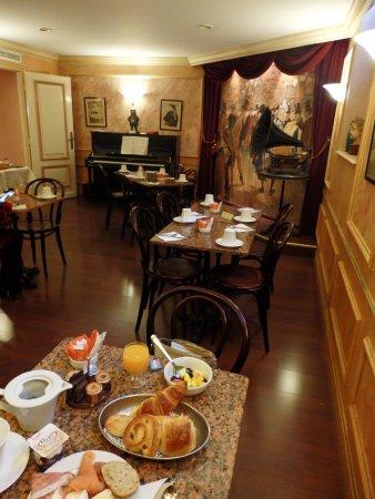 Hotel Saint-Jacques: Breakfast room