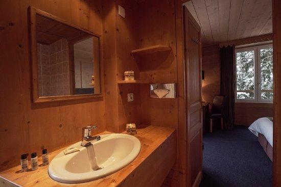 Hotel Chalet d'Antoine: Bathroom