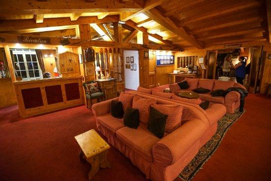 Hotel Chalet d'Antoine: Lounge area