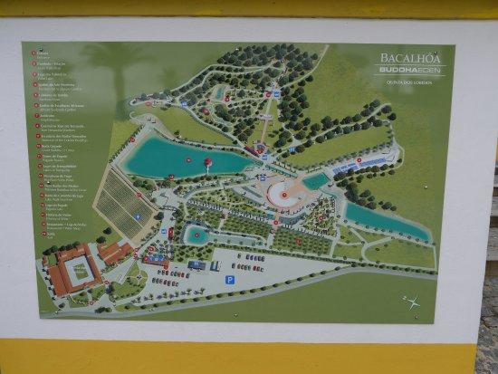 buddha eden mapa Bacalhoa Buddha Eden   Map   Picture of Bacalhoa Buddha Eden  buddha eden mapa
