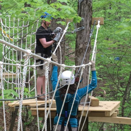Schenectady, NY: Climb, swing and zip