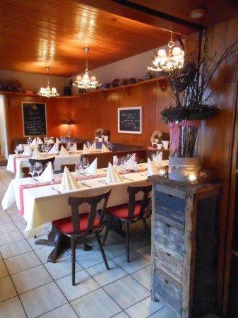 Hock's Restaurant: Gastraum hinterer Bereich
