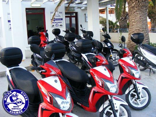 Milos Rides - Moto Rentals