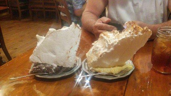 Patti's 1880's Settlement: Mile high pie!
