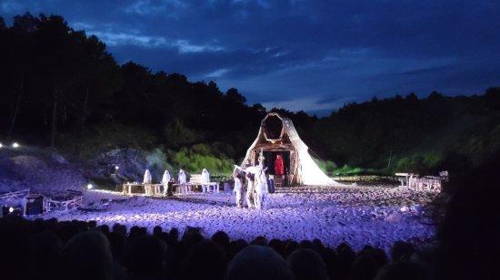Terschelling, Países Bajos: Performance 'Dijkdrift'