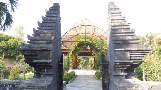 East Java, Indonesia: Gapura untuk masuk ke museum