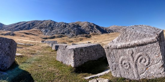 Green Visions: Medieval tombstones on Visocica
