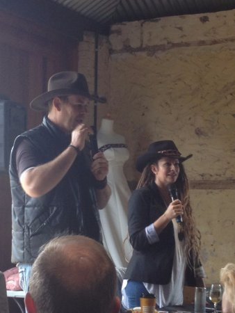 "Kingsford, Australia: Actors from McLeod's Daughters ""Alex & Stevie"" at the reunion"