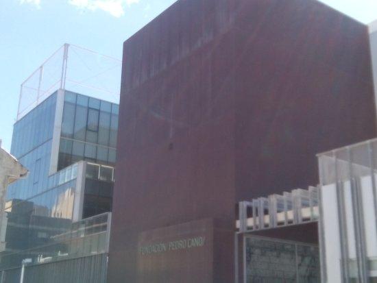 Fundacion Pedro Cano: Entrada al museo