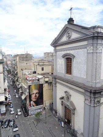 Vue De La Terrasse Picture Of B B Terrazza Duomo Naples