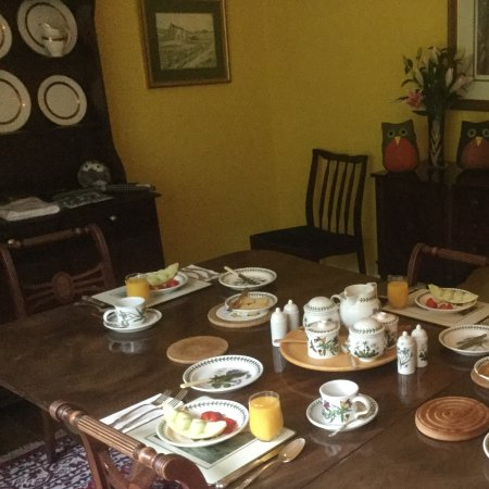 Bed and Breakfast at MellonPatch: Fantastic Breakfast