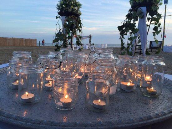 Candele Da Esterno Roma : Candele al tramonto foto di la scialuppa da salvatore fregene