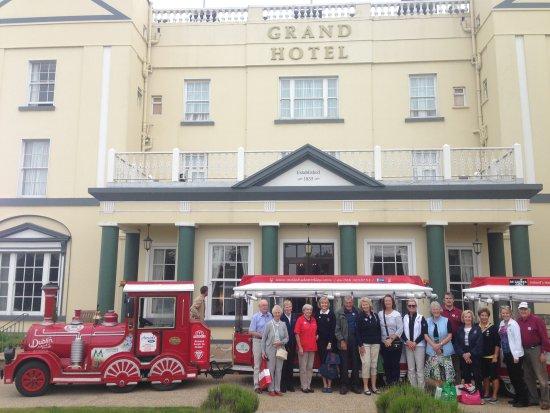 Toots Malahide Road Train: The Grand Hotel VIPs