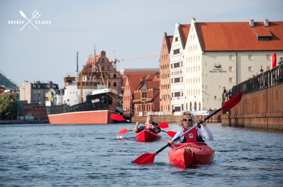 "Kayak rental & tours ""Discover Gdansk from kayak"""