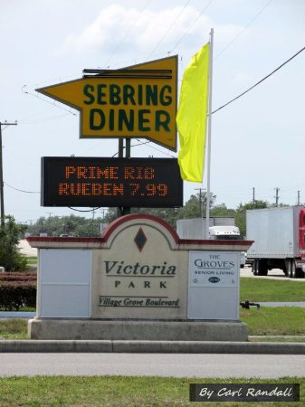 Sebring Diner : Great food at reasonable prices!