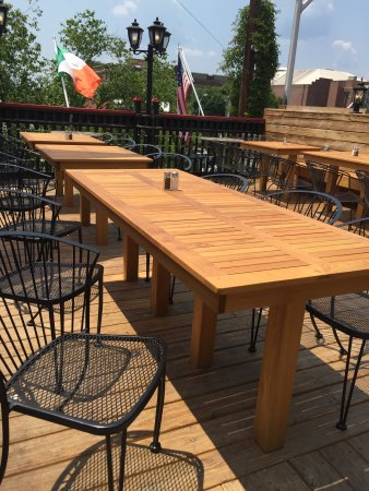 M'coul's Public House: Come check out our new deck furniture!