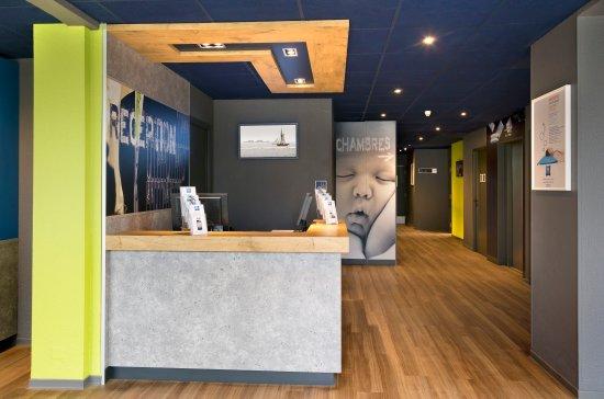 Ibis budget Saint-Malo Centre : Réception