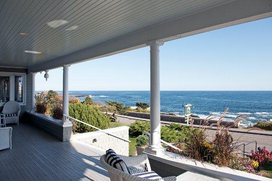 Cape Arundel Inn & Resort Porch View