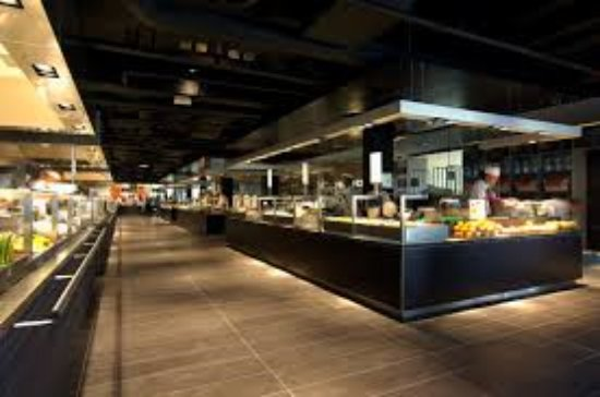 74b78a3bcc7 World of flavours - Picture of de Bijenkorf Kitchen Amsterdam ...