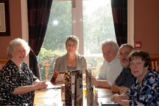 Huyton, UK: Family lunch