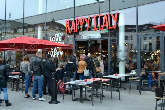 Meal at Happy Italy - Very good value. - Picture of Happy ...