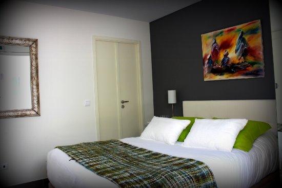 Casa nas Serras: Double room with terrace