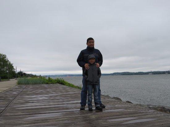 La Promenade Samuel-De Champlain: Às margens do rio São Lourenço