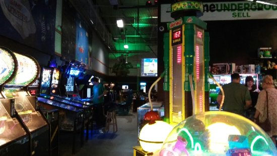 Natick, MA: Redemption and pinball.