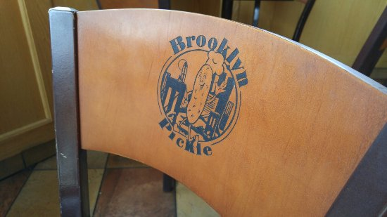 Brooklyn Pickle: Dining room chair.