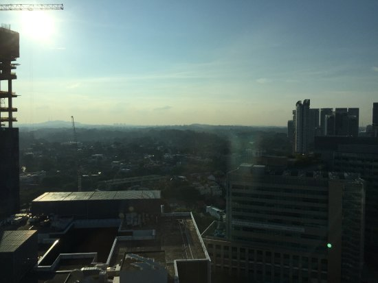 Oasia Hotel Novena, Singapore by Far East Hospitality: Nice view from 21st floor