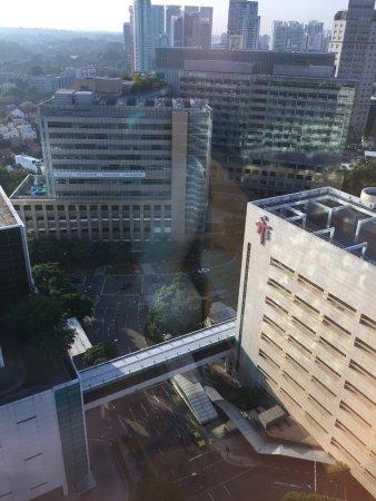 Oasia Hotel Novena, Singapore by Far East Hospitality: Opposite hospital
