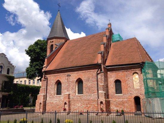 St. Gertrude's Church: Костел святой Гертруды // июнь 2016