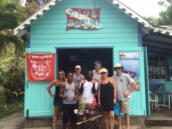 Dive Bequia: Divebuddies with DM Max