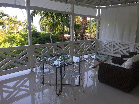 Round Hill Hotel & Villas : Cottage 7 view