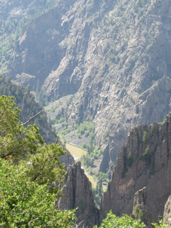Cimarron, Колорадо: Black Canyon of the Gunnison River