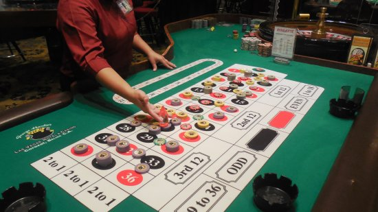 George Hardie's Las Vegas Hotel & Casino: Come and try your luck at our roulette table