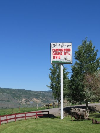 Cimarron, Колорадо: Black Canyon Campground & Cabins