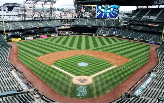 Beautiful Safeco Field, home of the Seattle Mariners ...