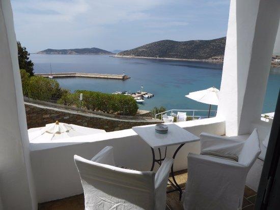 Niriedes Hotel: le balcon de la chambre
