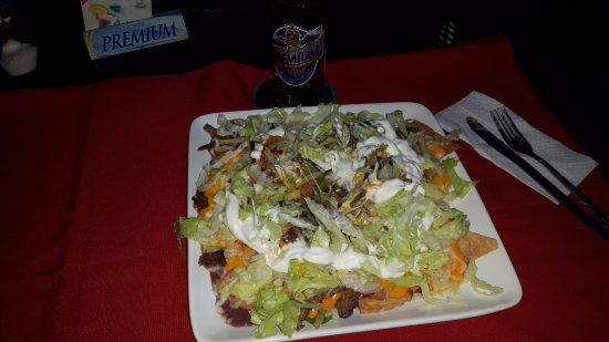 Managua Department, Nicaragua: O enorme prato de nachos