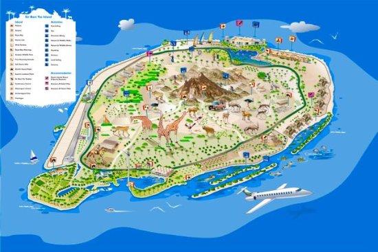 Hotels In Bani Yas Island