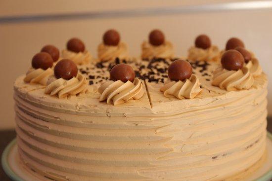 St Mawes, UK: lovely coffe cake