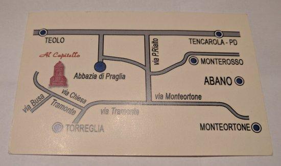 Al Capitello - business card back