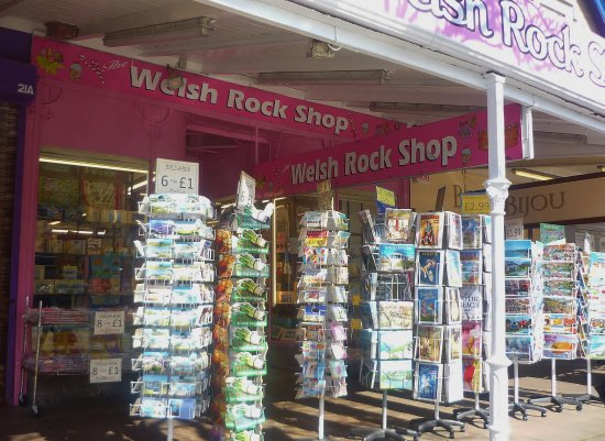 Welsh Rock Shop