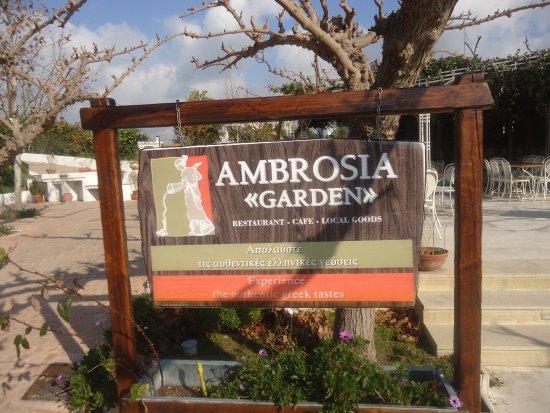 Taverna Ambrosia: frente