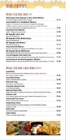 Bolton, UK: Veg dishes