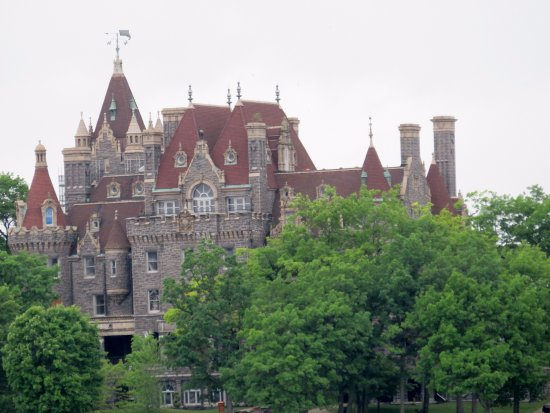 Gananoque, Καναδάς: La horterada de castillo